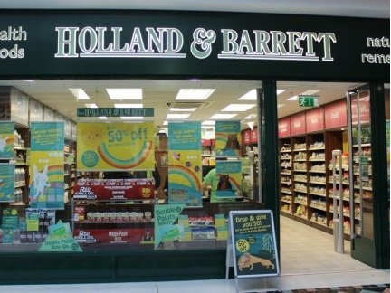 Holland & Barrett – Bridge Centre Tullamore