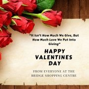 HAPPY VALENTINES DAY FROM THE BRIDGE CENTRE! ️️️