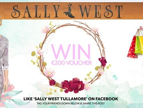 COMPETITION TIME!! Follow the instructions to Enter! Sally West Tullamore