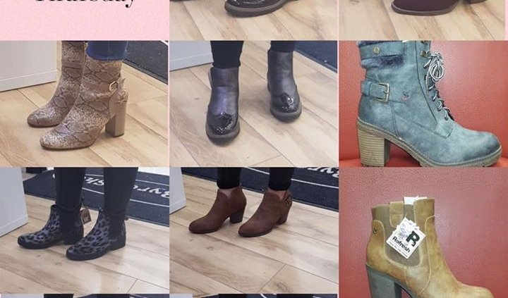 ALL BOOTS YOU SEE NOW ONLY €20 Massive boots sale! All Ladies ankle boots…