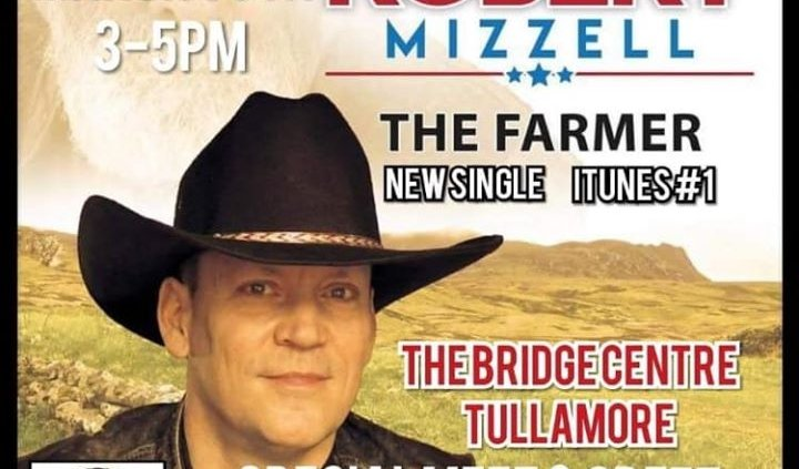 **MEET AND GREET WITH ROBRT MIZZELL** Ballymore Country Music Festival