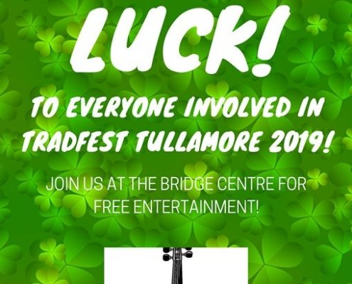 The very best of luck to everyone involved in Tullamore TradFest over the Weekend!…