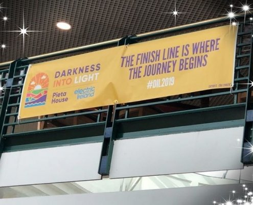Thank you Darkness into Light Tullamore ️ please support a very worthy cause ️