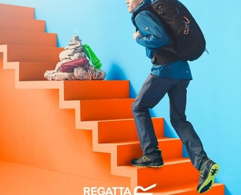 Get ready for every step with the wide range of footwear available at Regatta…
