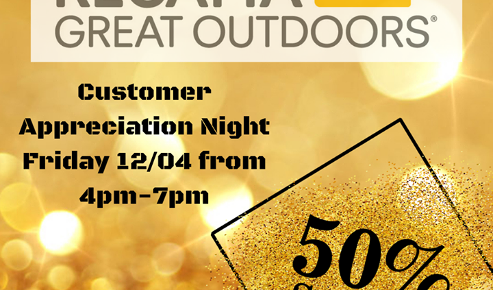 Regatta Ireland are having a Customer Appreciation Night kicking off at 4pm Today! All…