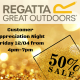 Regatta Ireland are having a Customer Appreciation Night kicking off at 4pm Today! All…