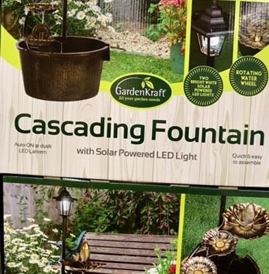 Get your garden ready for the Summer! Some great Garden decorations from unbelievable prices!…