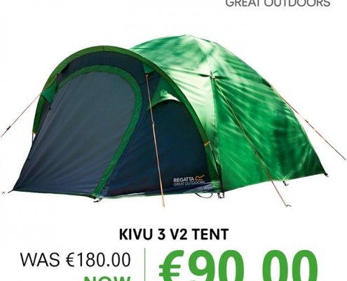 Head over to Regatta Great Outdoors for all your camping needs – all at…