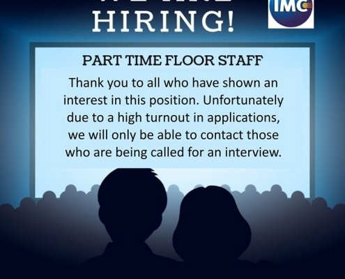 Thank you to all who have shown an interest in this position. Unfortunately, due…