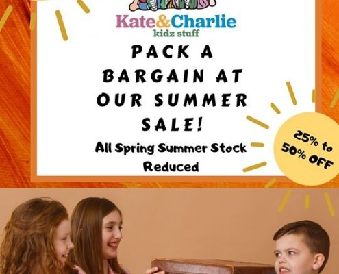 Check out Kate & Charlie's massive Summer Sale starting this Friday the 21st at…