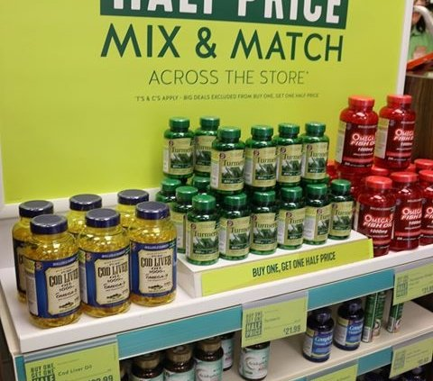 **BUY ONE GET ONE HALF PRICE MIX&MATCH** Holland & Barrett