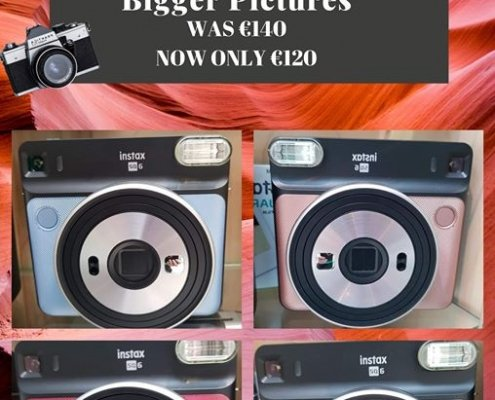 **Instax Offer at The PhotoPoint Bridge Centre** Photopoint Tullamore