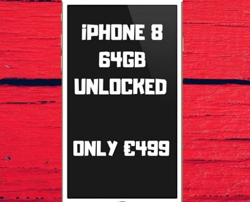 **iPHONE 8 FOR ONLY €499 FROM Trax Tullamore!**