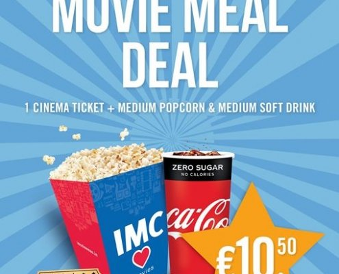 Movie Meal Deal from IMC Cinema ONLY €!!!