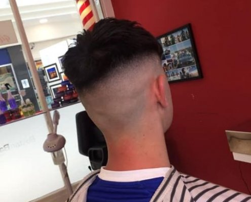 **Make sure your Fade is on Fleek for the weekend with Boston Barber Tullamore**