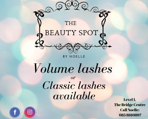 **Noelle will help you flutter those eyelashes with amazing Volume lashes and Classic Lashes**…