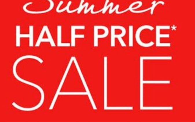 **WOW Sally West Tullamore HAVE A HALF PRICE SALE STARTING TODAY!**