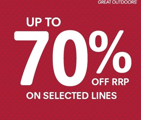 UP TO 70% OFF SELECTED LINES AT Regatta Ireland