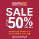 **50% OFF THE ENTIRE STORE** Everything in store is now Half Price! Regatta Ireland