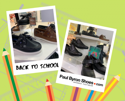 It's 'Back To School' season at Paul Byron Shoes, with amazing shoes for a…