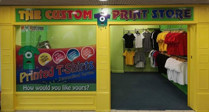 Have you seen the new store upstairs? Call into The Custom Print Store for…