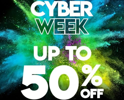 CYBER WEEK IS HERE! 🎆