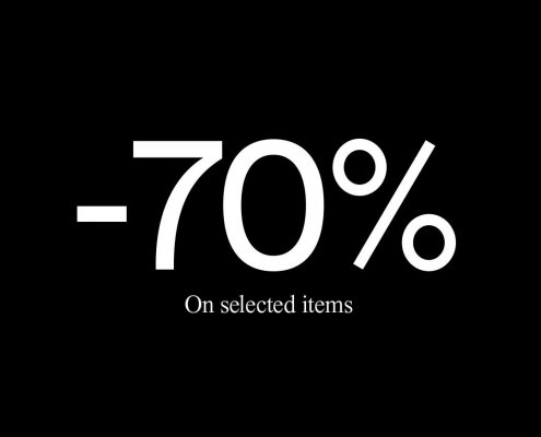 Up to 70% OFF selected styles in store now 😎