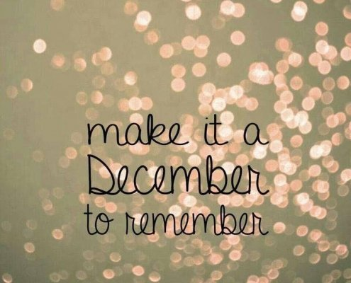 December 1st, can you believe it?