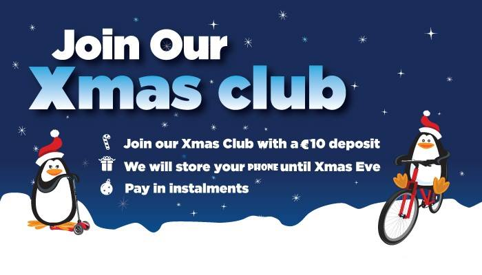 We are open from 12 , Xmas Club is Opened,