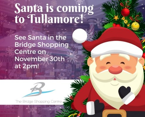 Almost time for Santa to arrive here at the Bridge Shopping Centre and we can not wa…